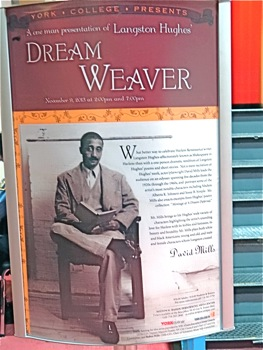 Langston Hughes - Queens | langston hughes dream weaver by david mills york performing arts center african american theatre in queens langston hughes in queens
