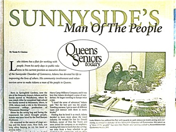Luke Adams - The Irish in Sunnyside & Woodside | irish in sunnyside irish in woodside luke adams