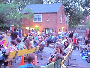 Sunnyside Shorts &amp; Flicks In The Garden | trees in queens planting trees in queens parks department greening western queens free trees