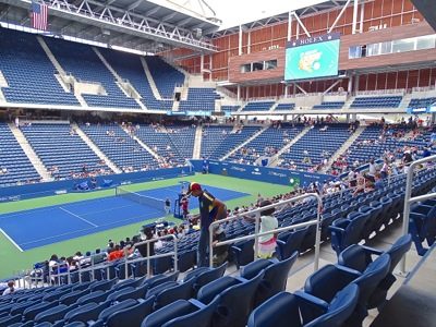 renovated usta flushing renovated usta billie jean king national tennis center queens nyc